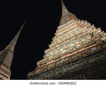 Wat Pho at Night - Landscape