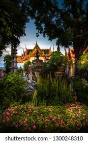 Wat Pho Palace Bangkok Thailand Wat Phra Chetuphon Vimolmangklararm Rajwaramahaviharn