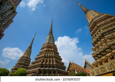Wat Pho or Wat Phra Chetuphon Vimolmangklararm Rajwaramahaviharn is one of Bangkok's oldest temples, it is on Rattanakosin Island, directly south of the Grand Palace.