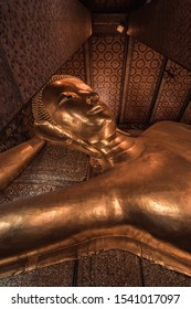 Wat pho temple - Golden Buddhas - Sleeping Buddha - Giant Buddha - Bangkok, Thailand