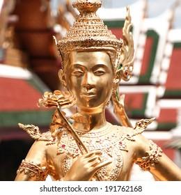 Wat Phra Kaeo, the landmark of Thailand