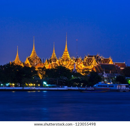 Wat Phra Kaew Royal Palace in Bangkok, Thailand