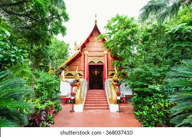 Wat Phra Kaew is a royal temple situated in Chiang Rai City, Thailand