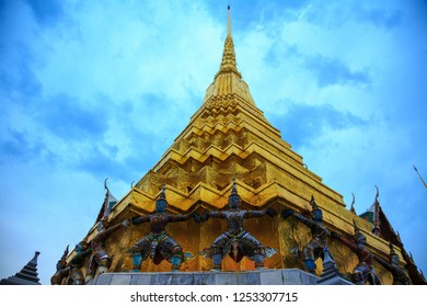 Wat Phra Kaew ('Temple of the Holy Jewel Image), also spelled Wat Phra Kaeo and commonly known as the Temple of the Emerald Buddha, is located on the ground of the Royal Palace in Bangkok.
