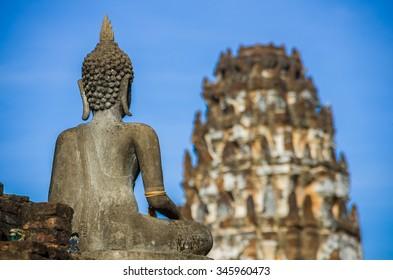 Wat Phra Pai Luang  Sukhothai historical park. Sukhothai, Thailand