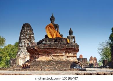 Wat Phra Phai Luang in Sukhothai Historical Park (Thailand)