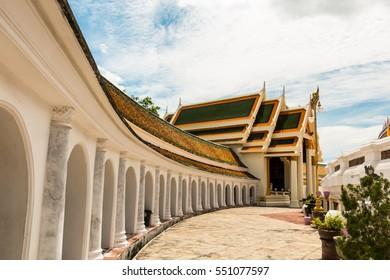 Wat Phra Prathom Jedi ,Thailand temple, Thailand. The big Pagoda of Thailand.