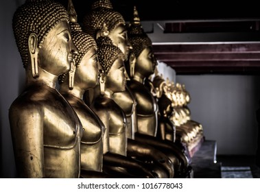 Wat Phra Si Rattana Mahathat also colloquially referred to as Wat Yai is a Buddhist temple (wat) in Phitsanulok Province, Thailand, Photography Day January , 1, 2018.