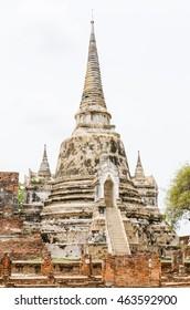 Wat Phra Si Sanphet, Ayutthaya Historical Park, Phra Nakhon Si Ayutthaya, Ayutthaya ,THAILAND