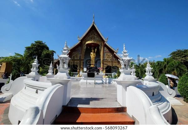 Wat Phra Singh in Chiangmai, Thailand