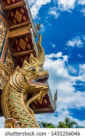 """WAT PHRA SINGH GREAT NAGA 