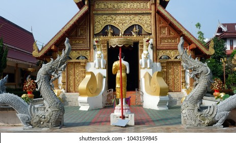 Wat Phra Singh is traditional temple of Chaing Rai Province.