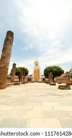 Wat Phra Sri Rattana Mahathat (Wat Yai) at  Mueang Phitsanulok Thailand