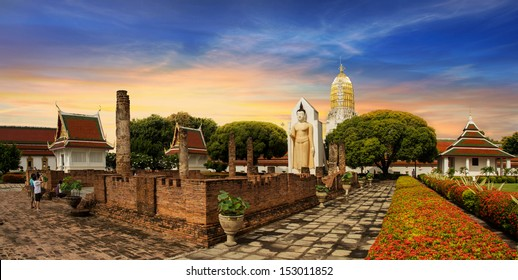 Wat Phra Sri Rattana Mahathat Temple, Phitsanulok, Thailand