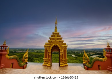 Wat Phra That Doi Phra Shan is another beautiful temple in Mae Tha District, Lampang Province, the temple is located on the top of Doi Phra Shan. Unseen Thai Temples in Thailand.