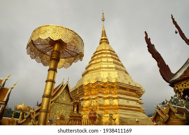 Wat Phra That Doi Suthep is a Theravada Buddhist Temple (15 kilometers from City of Chiang Mai Thailand)