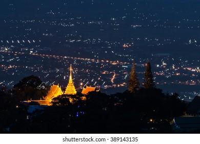 Wat Phra That Doi Suthep, Doi sutep temple chiangmai Thailand