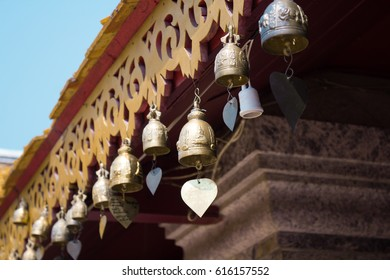 Wat Phra That Doi Suthep temple at Chiang Mai Province, Thailand