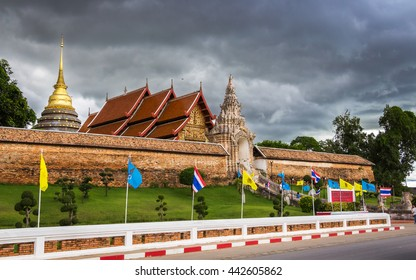 Wat Phra That Lampang Luang  is a Lanna-style Buddhist temple in Lampang in Lampang Province, Thailand.  Photography Day June 25, 2016