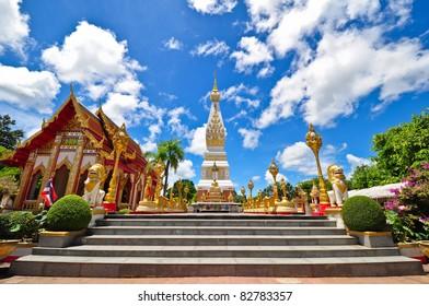 Wat Phra That Phanom temple, Nakhon Phanom Province, Thailand