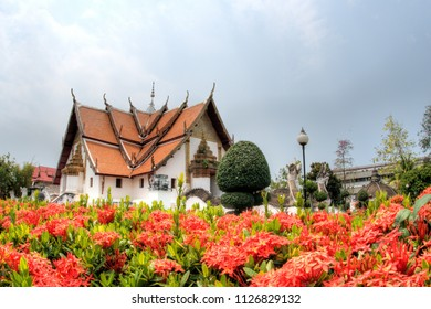 Wat Phumin, the most famous temple of Nan province, Thailand