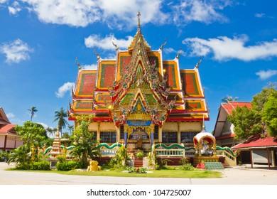 Wat Plai Laem temple Koh samui, Thailand