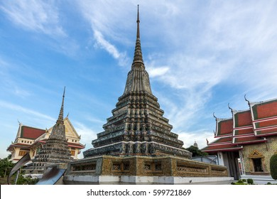 Wat Po is a Buddhist temple complex in the Phra Nakhon District, Bangkok, Thailand.