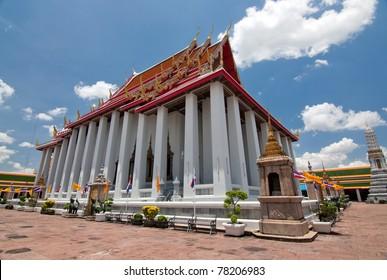 Wat Po, temple, city of Bangkok