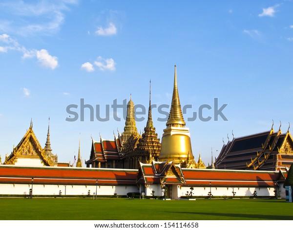 Wat pra kaew grand palace, Bangkok, Thailand