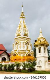 Wat Pra That Prasit Stupa, Nawa, Nakhon Phanom, Thailand