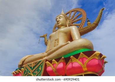 Wat Pra Yai (Koh Farn) - Big Buddha at Koh Samui Thailand