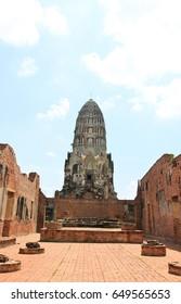 Wat Ratchaburana in Ayutthaya, Thailand