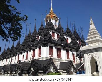 Wat Ratchanatdaram Temple in Bangkok