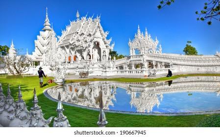 Wat Rong Khun - White Temple - Chiang Rai, Thailand