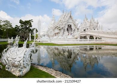 Wat Rong Khun,Chiang Rai, north of Thailand