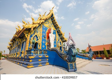 Wat Rong Suaten is the public temple.This is the most popular temple in Chiang Rai.
