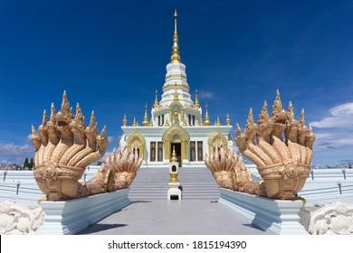 Wat Saen Suk temple in Bang Sean, Chonburi, Thailand.