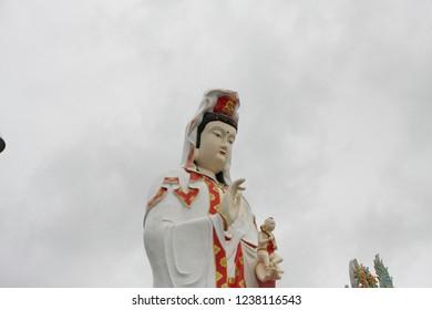 Wat Saman Rattanaram Chachoengsao thailand.