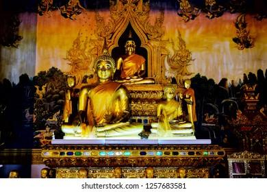 Wat Si Pan Ton (Si Pan Ton Temple), Nan, Thailand, December 2018