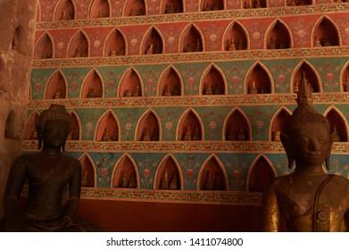 Wat sisaket temple in Vientiane Laos