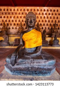 Wat Sisaket Temple in Vientiane, Laos