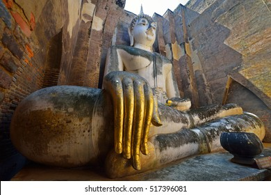 Wat Srichum at Sukothai historical park (world heritage)