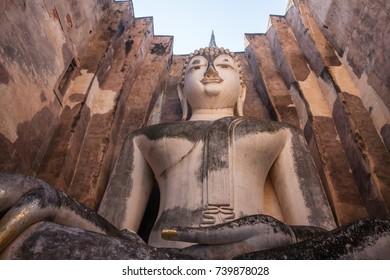 Wat Srichum at Sukothai historical park (world heritage)