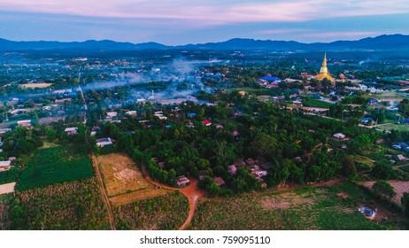wat, temple, thailand, li, lamphun,