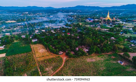 wat, temple, thailand,li  lamphun