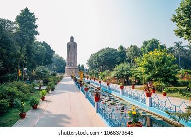 Wat Thai Sarnath Temple in Varanasi, India