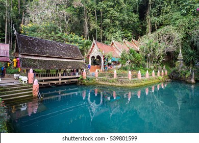 Wat Tham Chiang Dao, Chiang Mai Province, nothern Thailand