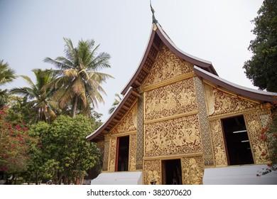 Wat Xiang Tong in Luang Prabang