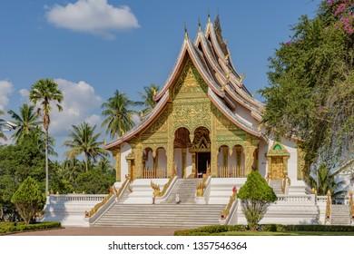 Wat Xieng Thong temple, Luang Pra bang, Laos.