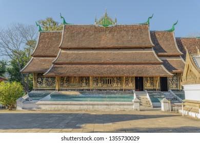 Wat Xieng thong temple,Luang Prabang, Laos.